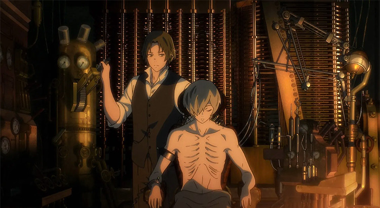 The Empire of Corpses anime screenshot