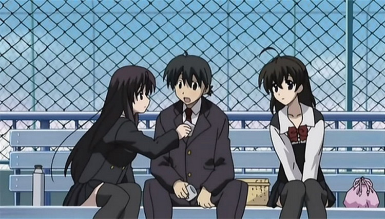 School Days anime screenshot