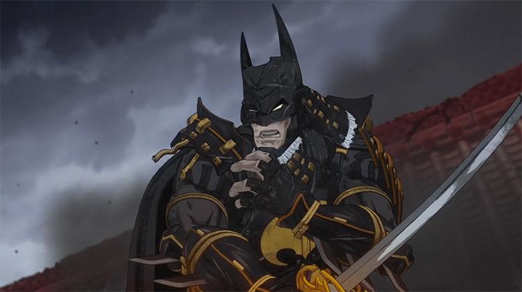 Ninja Batman anime screenshot