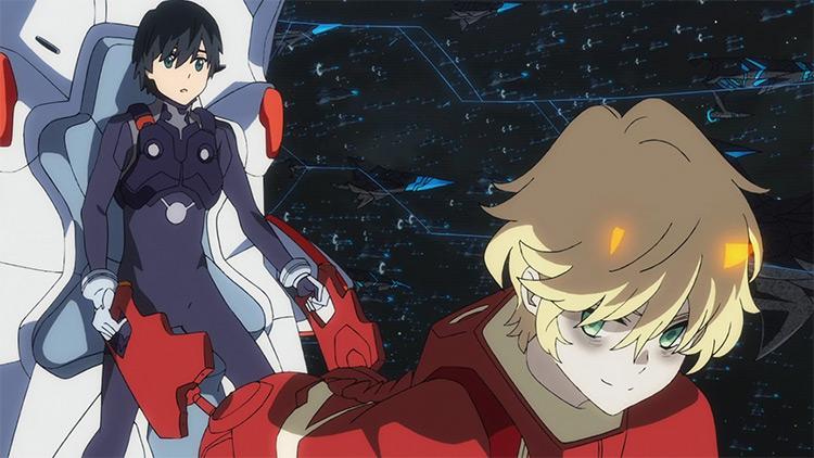 Darling in the FranXX anime screenshot