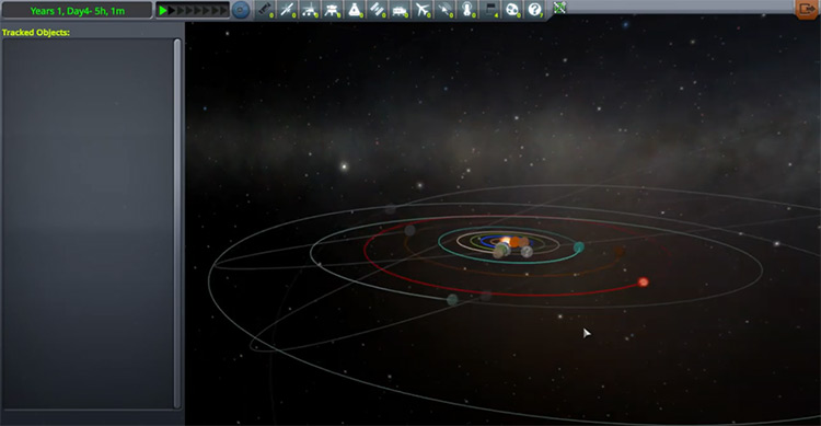 Dwarf Planets Plus mod for Kerbal Space Program