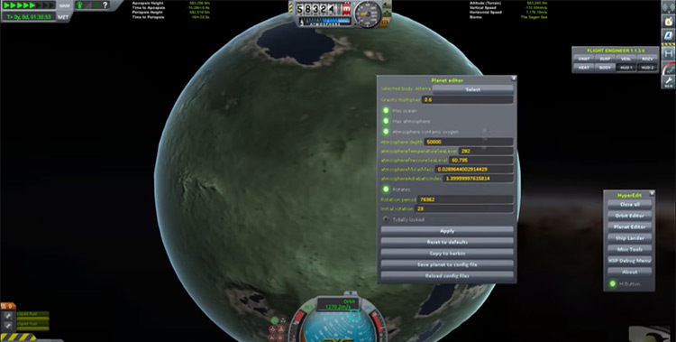 Kopernicus mod for Kerbal Space Program
