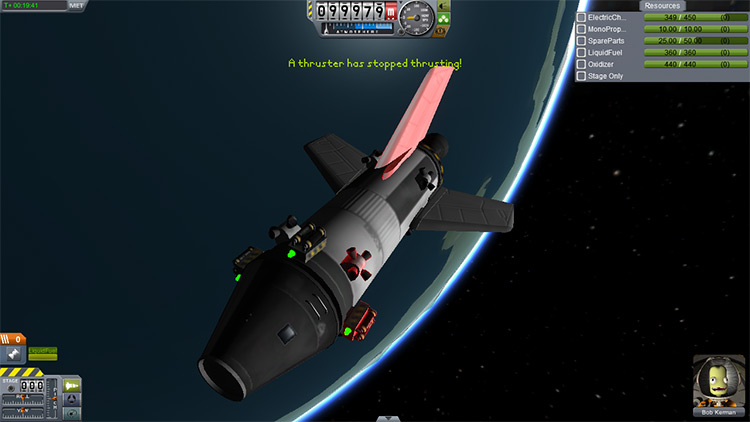 Dang It! Continued Kerbal Space Program mod