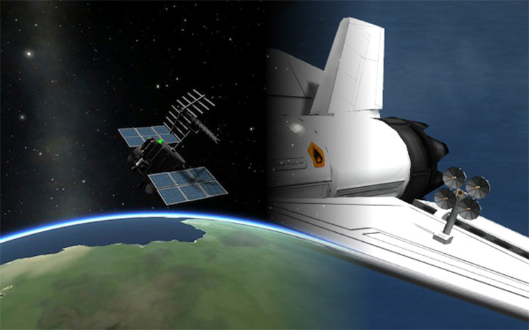 Telemachus Reborn Kerbal Space Program mod screenshot