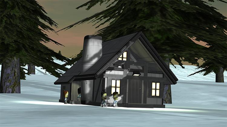 Fachwerkhaus Style 1 Kerbal Space Program mod