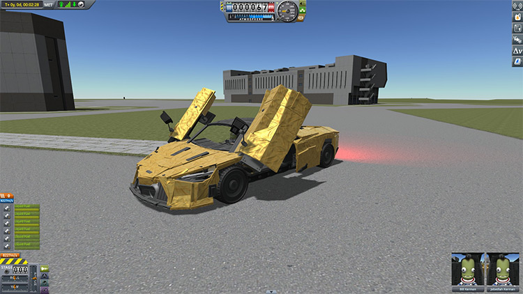 McLaren 720S Spider Kerbal Space Program mod