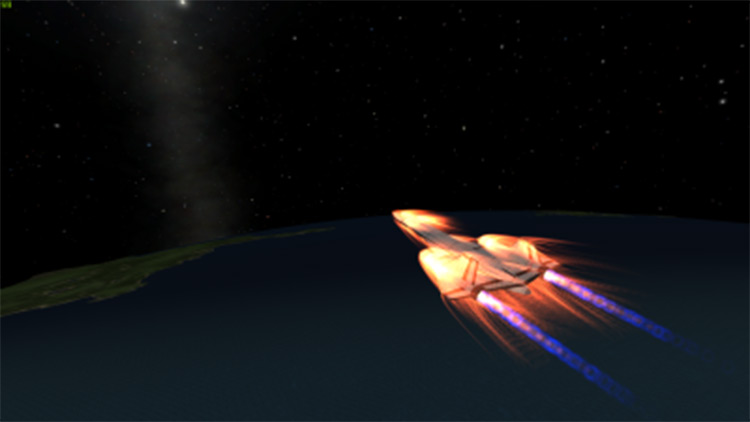 SR-71 Replica Kerbal Space Program mod