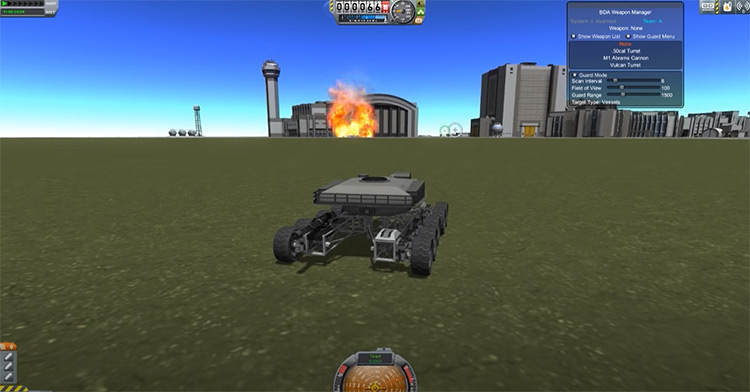 BDArmory mod for Kerbal Space Program