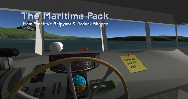 The Maritime Pack KSP mod