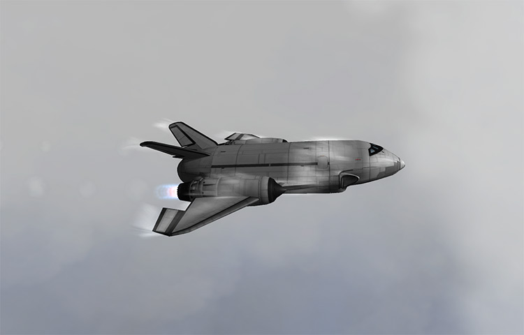 Mark IV Spaceplane System KSP mod