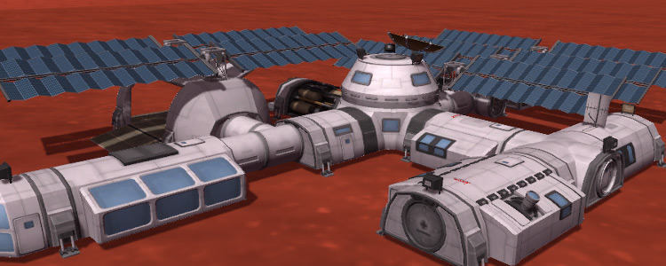 Kerbal Planetary Base Systems mod
