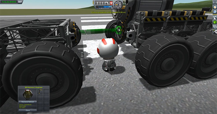 Kerbal Attachment System (KAS) mod