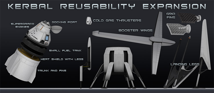 Kerbal Reusability Expansion (KRE) mod