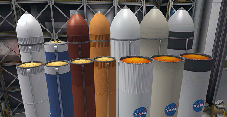 Fuel Tanks Plus mod for Kerbal Space Program