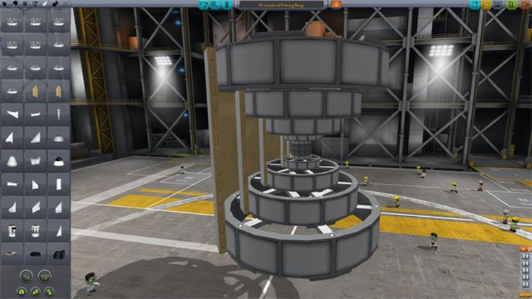 Procedural Fairings mod for Kerbal Space Program