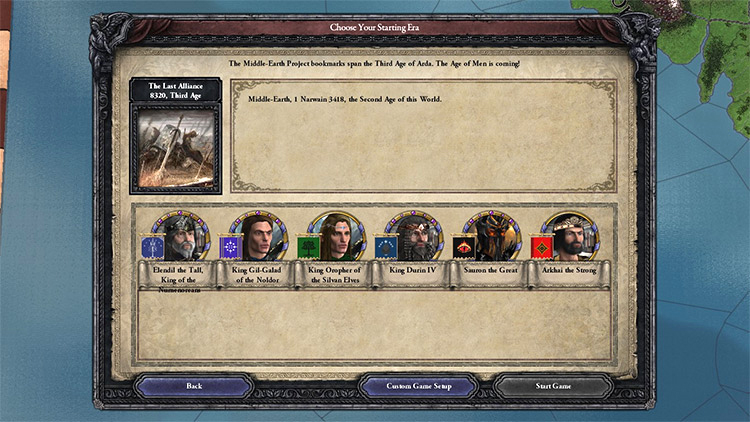Middle Earth Project Crusader Kings 2