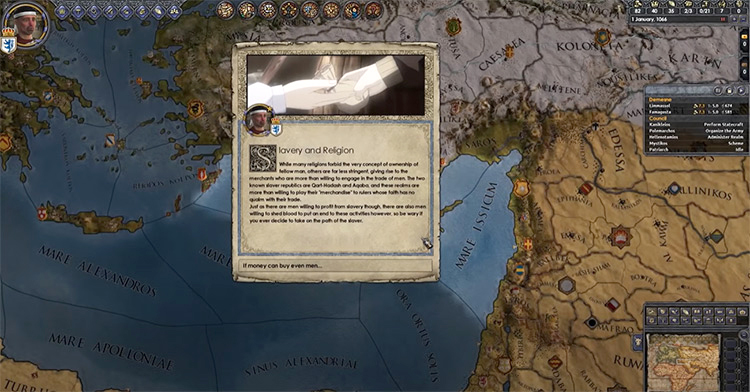 Lux Invicta mod for Crusader Kings 2
