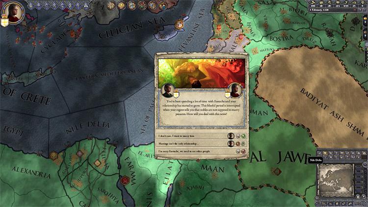 Rich Childhood mod for Crusader Kings 2