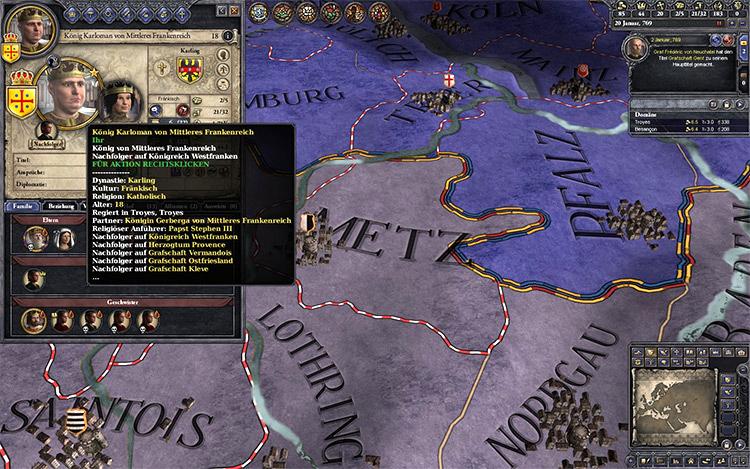 A Revolutionary Tooltip Font mod for Crusader Kings 2