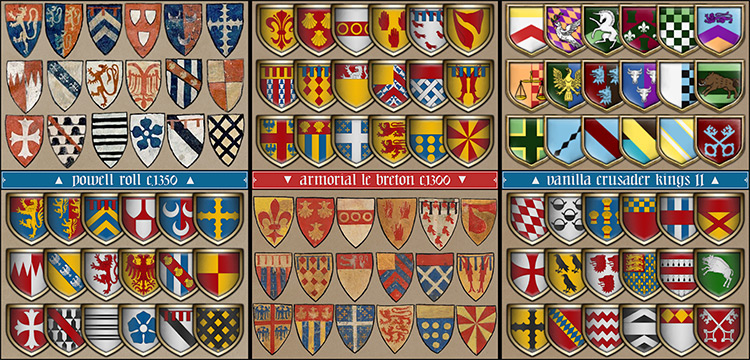 Patrum Scuta mod for Crusader Kings 2