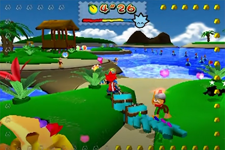Ape Escape 2001 game screenshot