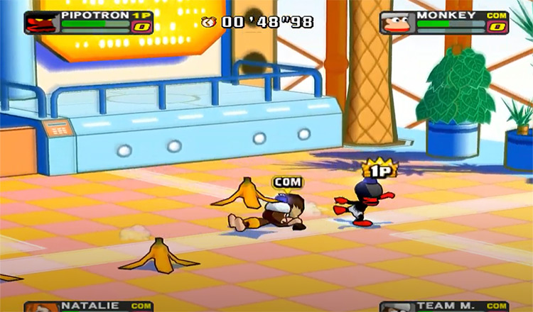 Ape Escape: Pumped & Primed (2004) gameplay