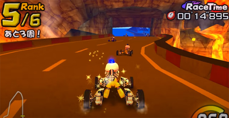 Ape Escape Racer (2006) screenshot