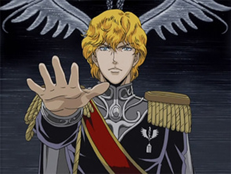 Legend of the Galactic Heroes anime screenshot
