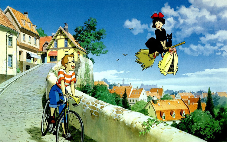 Kiki's Delivery Service anime screenshot