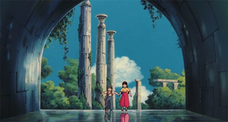 Castle in the Sky screenshot