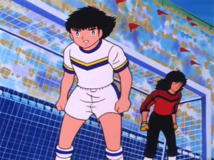 Captain Tsubasa 1980s TV anime screenshot