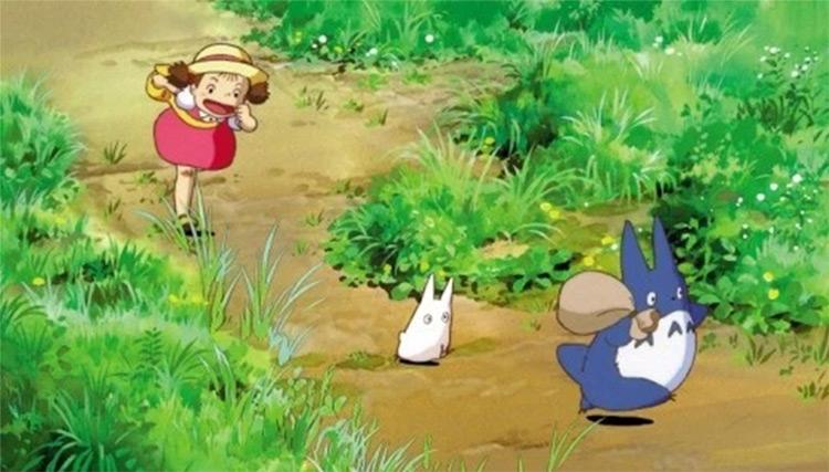 My Neighbor Totoro Ghibli anime screenshot