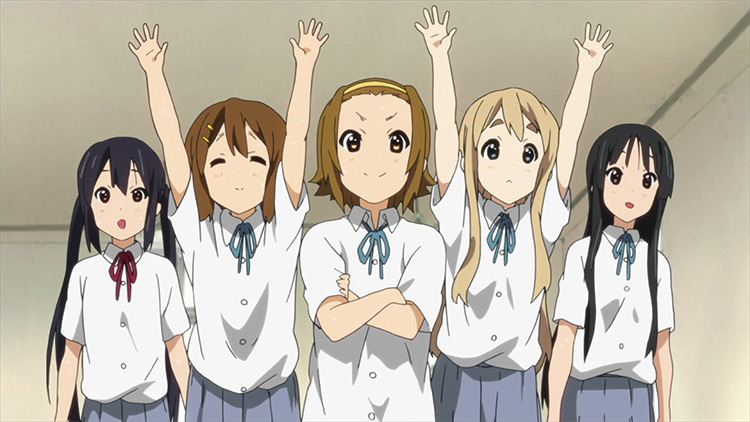 K-On! fun anime screenshot