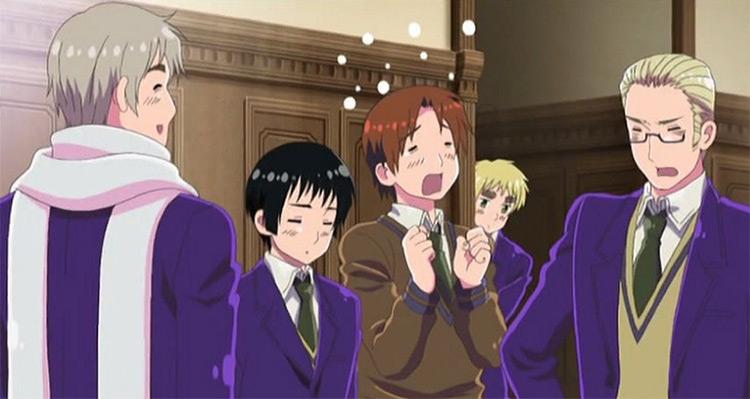 Hetalia: Axis Powers anime screenshot