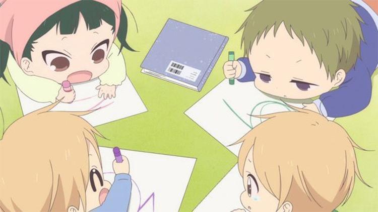 Gakuen Babysitters anime screenshot