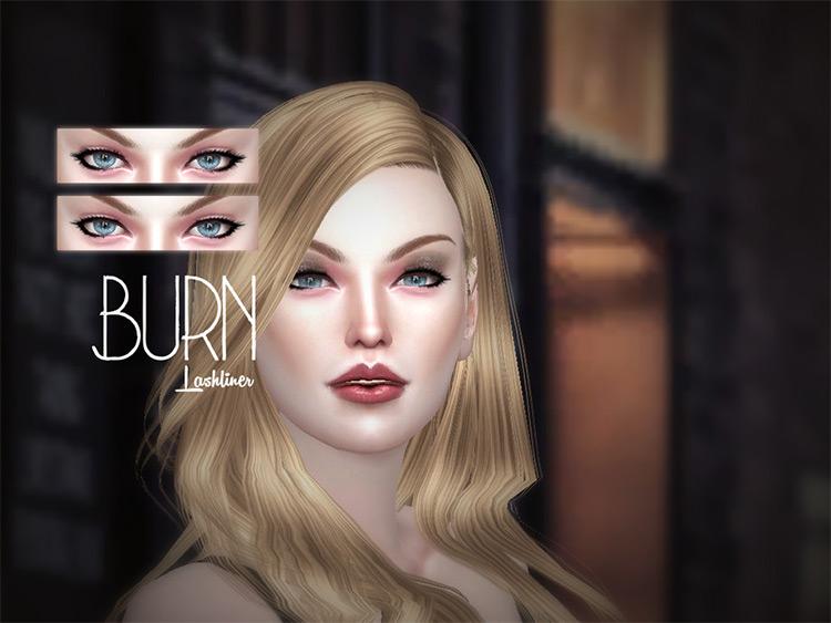 Burn Eyelashes Sims4 v1 pack