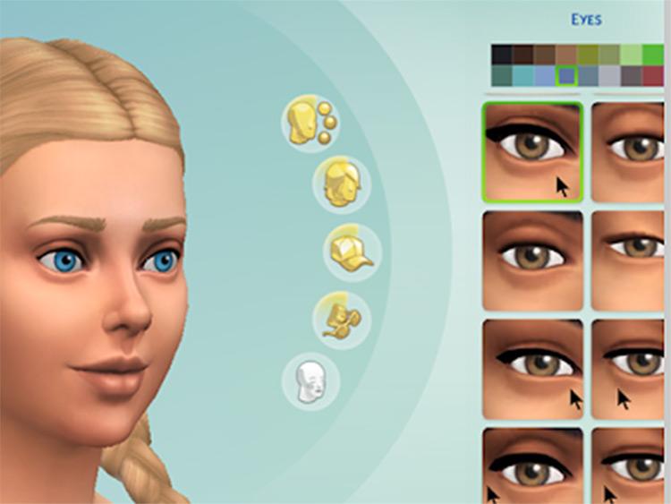 No EA Eyelashes - Sims 4 mod preview