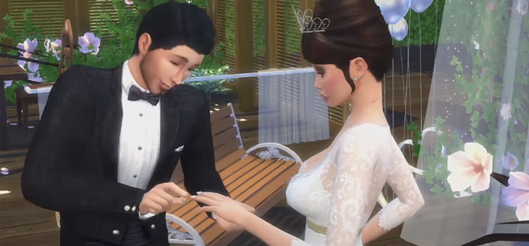 Best Sims 4 Wedding Rings CC For Your Big Day
