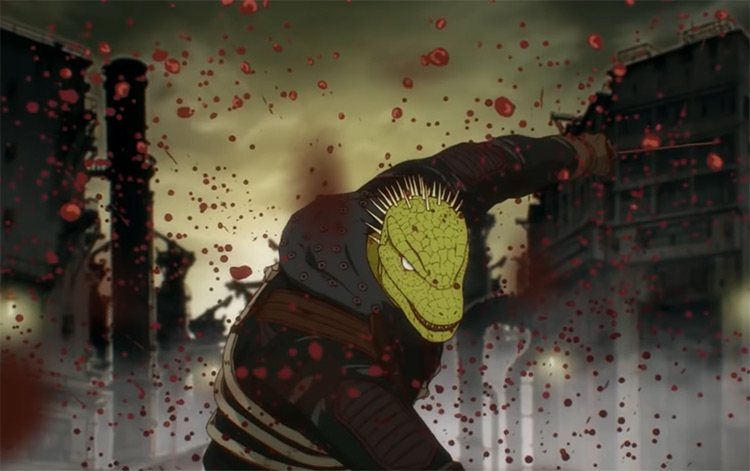 Kaiman in Dorohedoro Anime