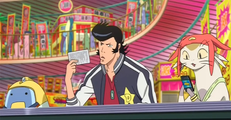 Dandy, QT, Meow in Space Dandy Anime