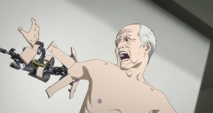Inuyashiki Anime screenshot