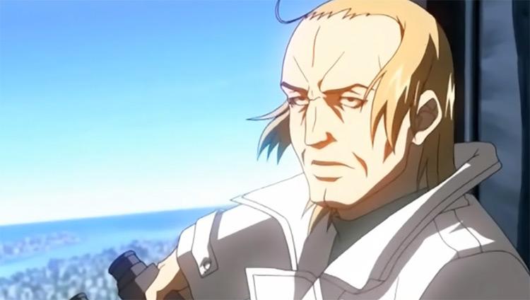 Gates Scientist in Full Metal Panic Anime