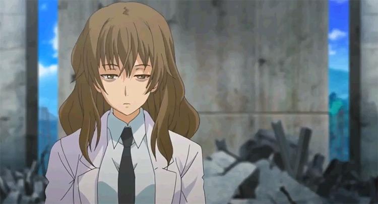 Harumi Kiyama in A Certain Scientific Railgun Anime
