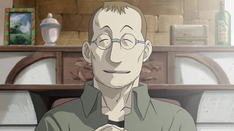 Shou Tucker from Fullmetal Alchemist Anime