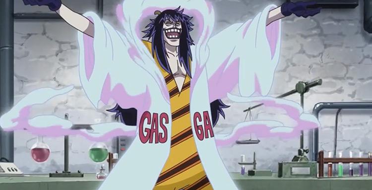Caesar Clown in One Piece Anime screenshot