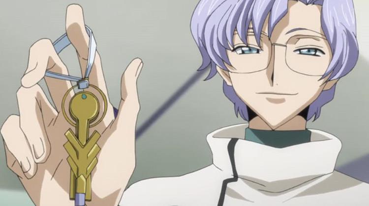Lloyd Asplund from Code Geass Anime