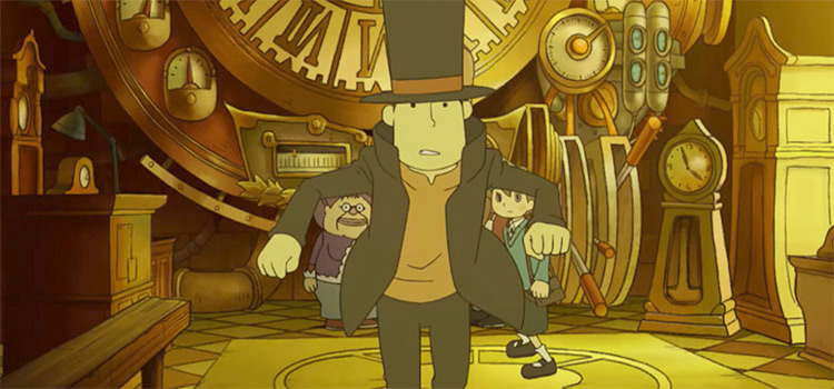 Professor Layton and the Unwound Future - game preview