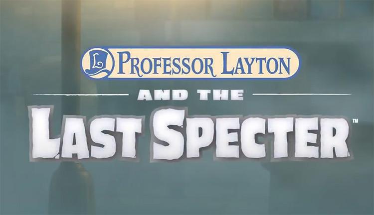 Professor Layton and the Last Specter - game screenshot