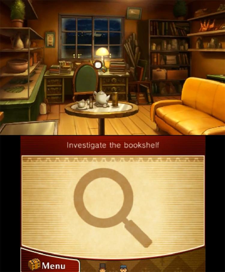 Professor Layton vs. Phoenix Wright: Ace Attorney Nintendo 3DS gameplay