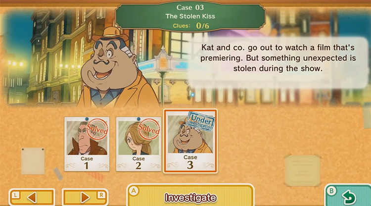 Layton's Mystery Journey: Katrielle and the Millionaires' Conspiracy Nintendo Switch gameplay